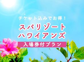 ☆スパリゾートハワイアンズ2days券付きプラン☆